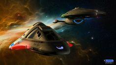 Voyager And The Lil D by Jimlogan1701.deviantart.com on @deviantART
