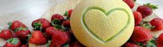 Melon smoothie for healthy pregnancy diet