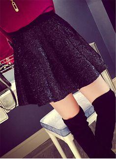 High Waisted A-line Skirt by PFashionShop on Etsy