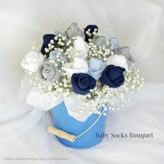 There is nothing so sweet as tiny baby feet but sometimes those precious piggies need covering with itty-bitty socks. Make this pretty Baby Socks Rose Bud Flower Bouquet arrangement for a lovely and useful shower gift or centerpiece. There are affiliate links in this post. That means if you buy something from that link, I...Read More