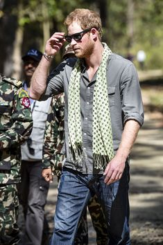Prince Harry Photos - Prince Harry Visits Nepal - Day 2 - Zimbio