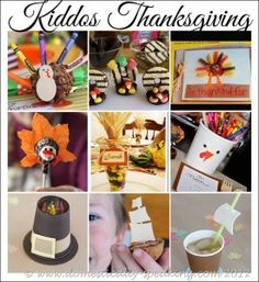 Kids crafts for #thanksgiving