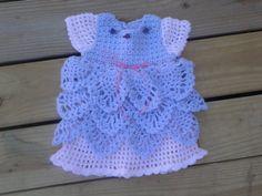 Crochet baby dress baby Easter dress Easter by ShellyBellsCrochet, $30.00