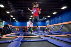 Sky Zone San Diego in Chula Vista and Sky High Sports in Miramar are competing indoor trampoline parks that can really tire out hyperactive offspring, but they also offer aerobics classes for adults.