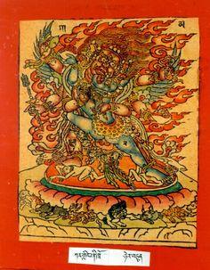 Himalayan Art: Item No. Tibetan Buddhism, Buddhist Art, Tattoo Museum, Indian Gods, Himalayan, Deities, Rooster, Mantra, Cards