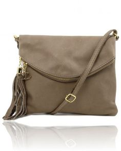 TL YOUNG BAG TL141153 Shoulder bag with tassel detail - Borsa a tracolla con nappa