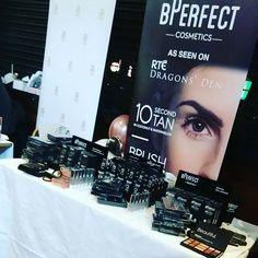 Perfection from @bperfectcosmetics @bperfectbrendan to start off with 500 in your pocket and now to be an amazing brand well known nationally and internationally. #lovetheproducts #bigbeautybash #bperfectcosmetics #bperfect
