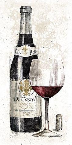 Pencil Wine I