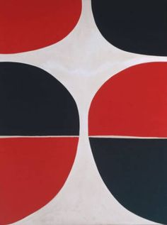 Terry Frost. June, Red and Black, 1965.