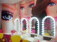 Barbie makeup room. My dream!!!!!!! <3