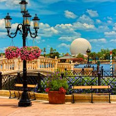 Epcot's World Showcase - Italy pavilion