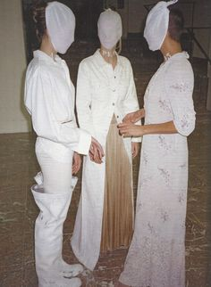 maison martin margiela exhibition, palais des beaux-arts, brussels, 1996.