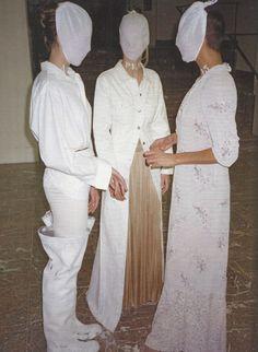 maison martin margiela exhibition, palais des beaux-arts, brussels, 1996.