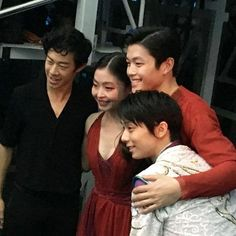 Nathan, the Shibs and Yuzu. Words can't express how much I love this photo