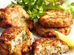 Tuna and zucchini cakes