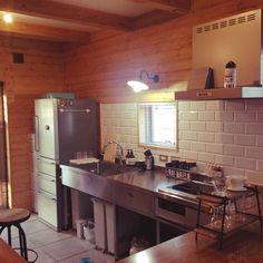 Kitchen/無印良品/Aesop/土間キッチン/BESSの家のインテリア実例 - 2015-06-11 11:02:02 | RoomClip (ルームクリップ)