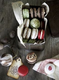 Macarons: Photography by Craig Wall Rustic Cafe, Rustic Kitchen, Rustic Style, Rustic Logo, Rustic Desk, Rustic Office, Rustic Cottage, Rustic Outdoor, Rustic Industrial