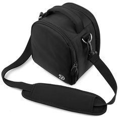 VanGoddy Laurel Carrying Bag for Leica Q / D-Lux / X Vario / X Digital Cameras (Black) ** Learn more by visiting the image link.