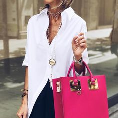 35 Hottest White Blouse Ideas That Looks Cool Fashion Over 50, Love Fashion, Womens Fashion, Casual Outfits, Cute Outfits, Fashion Outfits, Paris Chic, Moda Chic, Looks Street Style