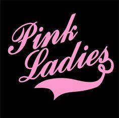 Sarah's Pink Ladies Hen Night T-shirt.