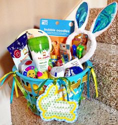 Boy or girl unisex toddler any occasion gift basket great for over 100 easter basket ideas for toddlers negle Choice Image