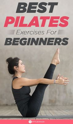 10 Best Pilates Exercises For Beginners: Pilates is the BEST exercise for building a strong core and reducing lower back pain. This article lists the best Pilates workouts, their benefits, and much more. So, give this post a quick read. Pilates Workout Routine, Pilates Abs, Pilates Training, Pilates Videos, Pilates Challenge, Pilates At Home, Pilates Reformer Exercises, Pilates Studio, Pilates Fitness