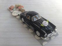 Hochzeitsauto Mercedes schwarz - Geldgeschenk
