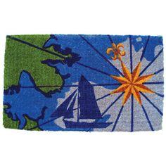 Nautical rug, very seasonal ;-)