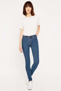 Schwarze Jeans Milf