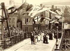 Opening of the new Swing Bridge - Whitby - North Yorkshire - England - 24 July 1908