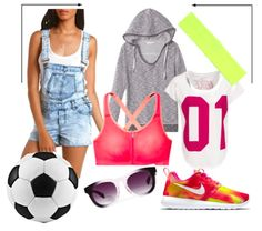 #Overalls are perfect for rocking your sporty side. #trend