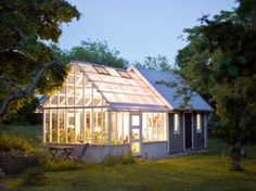 Potting Shed/Greenhouse ~ someday I'll have another greenhouse!