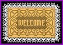 Welcome, placemat
