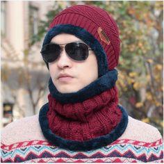 Beanie Knitted Caps Women's Hats Outdoor Sport Warm