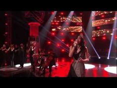 Jessica Sanchez giving her best on American Idol Season 11 Top 2 Performances