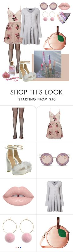 """""""71"""" by shelbymaed ❤ liked on Polyvore featuring Music Legs, Lipsy, Miu Miu, Derek Lam and Harveys"""