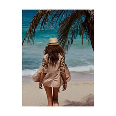 Casual Swimwear - Island Style Swimwear - Marie Claire ❤ liked on Polyvore