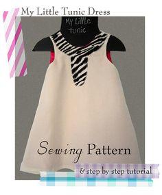 my little tunic sewing pattern