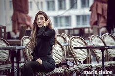 The gorgeous Jessica Jung for Marie Claire magazine
