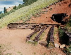 entertainment area cut out of a hillside - Google Search