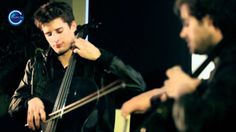"""2CELLOS (Luka Šulić & Stjepan Hauser) exclusively play live their acoustic arrangement of U2's classic """"With or Without You"""" at C Music TV's studios in Londo..."""