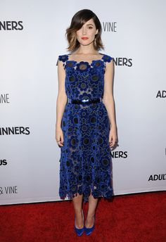 This week's best dressed dared to be bold: Rose Byrne.