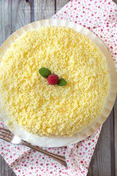 Torta mimosa - Trattoria da Martina - cucina tradizionale, regionale ed etnica