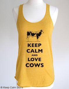 Keep Calm and Love Cows