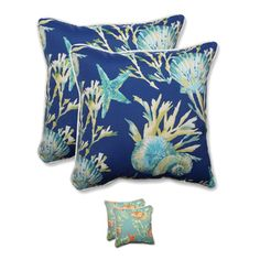 Shop for Pillow Perfect Outdoor/ Indoor Daytrip 18.5-inch Throw Pillow (Set of…