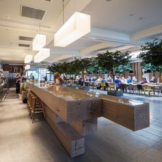 Image 1 of 28 from gallery of Quality Hotel Expo / Haptic Architects. Photograph by Simon Kennedy Interior Architecture, Interior And Exterior, Interior Design, Commercial Design, Commercial Interiors, Cafe Restaurant, Restaurant Design, Grande Hotel, False Ceiling Living Room