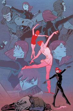 The Elegant Black Widow - Kris Anka