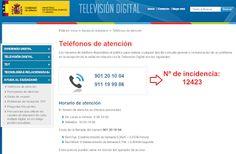 WEBSEGUR.com: SEGUIMOS CON LAS GESTIONES DE LA TDT