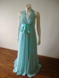 Sexy Halter Maternity Dress