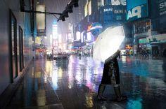 Remarkable Reflective Umbrellas
